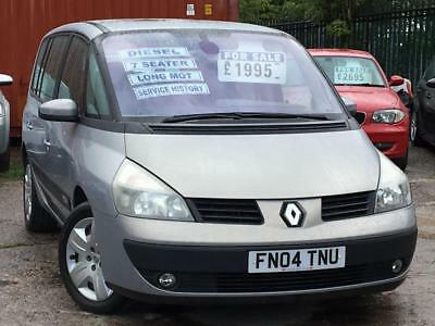 2004 Renault Espace Expression Dci (150bhp) 2.2