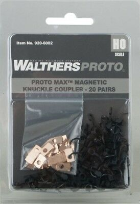 Walthers 920-6002 Proto MAX(TM) Magnetic Knuckle Couplers (20 pairs )
