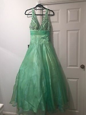 Prom Dress Ball Gown Size 8 Eur 3328 Picclick Fr