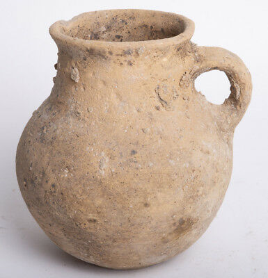 Holy Land Iron Age pottery Jug Time of King David c.1000 BC.