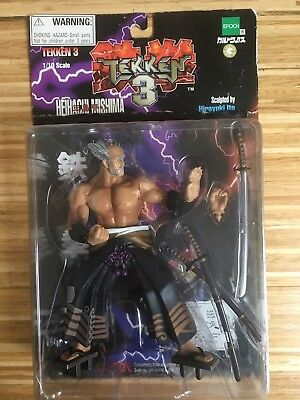 TEKKEN 3 ACTION Figure HEIHACHI MISHIMA in box by Epoch King of Iron Fist