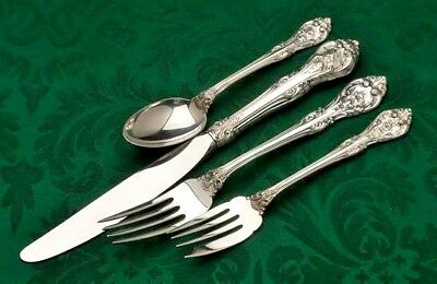 King Edward by Gorham Sterling Silver 4 piece Place Setting, Luncheon Modern