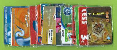 Greece 40 Different Prepaid Phonecards Chronocards UNUSED
