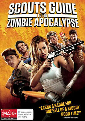 NEW Scouts Guide to the Zombie Apocalypse DVD Free Shipping