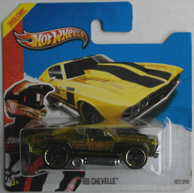 Hot Wheels 1969 Chevy Chevrolet Chevelle gelb-transparent HW Racing Neu/OVP ´69