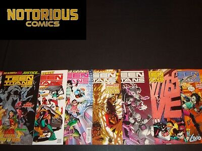 Teen Titans Special 20 21 22 23 24 25 Complete Comic Lot Run Set 1st Crush DC