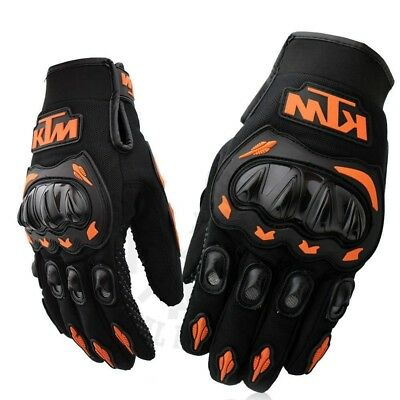 Ktm Gloves Guantes Ktm Complete Protection Protecciones Dedo Completo Motocross