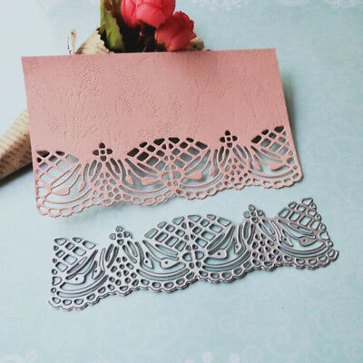 Lace Metal Cutting Dies Stencil Scrapbooking Paper Card Embossing Decor Craft