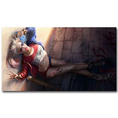 Harley Quinn - Suicide Squad Superheroes Movie Silk Poster 13x24inch