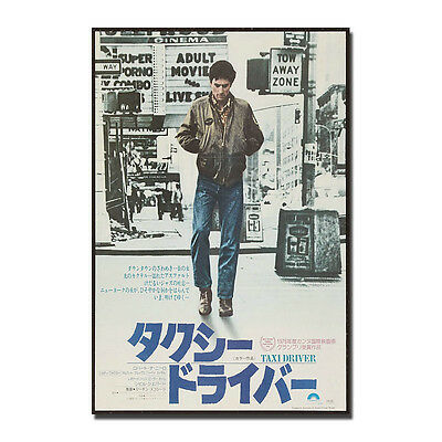 TAXI DRIVER Poster Movie Art Silk Poster 13x20 24x36in J689
