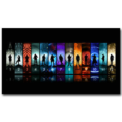 Doctor Who Season 10 TV Series Silk Poster 13x18 24x32 inch 001