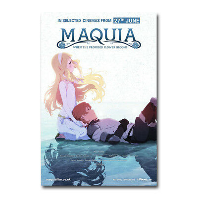 Maquia When the Promised Flower Blooms Movie Silk Canvas Poster 13x20 20x30 inch