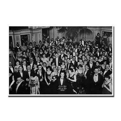 The Shining Overlook Hotel 4th of July Ballroom Silk Poster 13x20 24x36in J478
