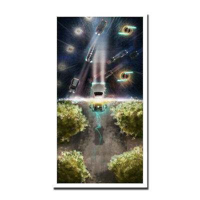 Back To The Future Movie Art Silk Poster 13x24inch