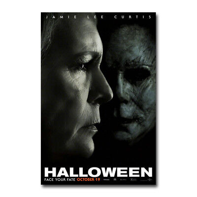 Halloween - Classic Movie Silk Canvas Poster 13x20 24x36 inch