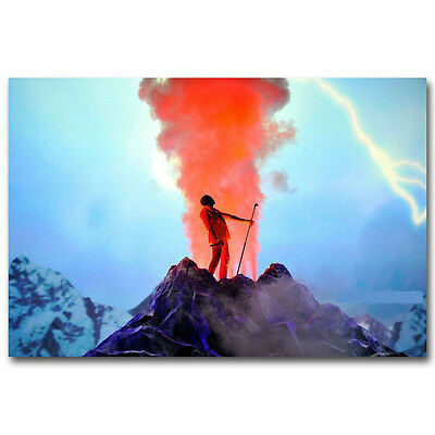 Kanye West Hithot Music Art Silk Poster Print Wall Decor 13x20 24x36 inch J183
