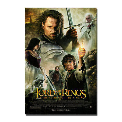 The Lord Of The Rings Hot Movie Silk Canvas Poster Print 13x20 32x48''