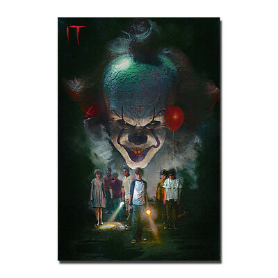 New IT Movie Pennywise Stephen King Horror 2017 Silk Poster 13x20 20x30''