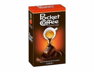 3 x Ferrero Pocket Coffee Espresso,225g ( 54pieces)from Germany,free Ship Worldw