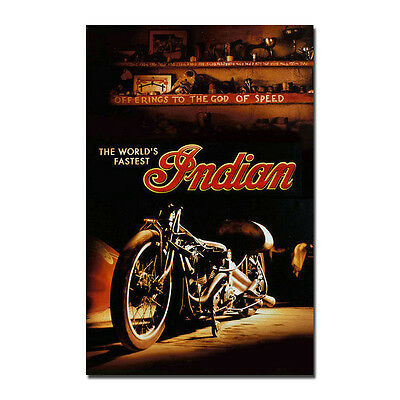 The World's Fastest Indian Movie Silk Fabric Poster 13x20inches J526