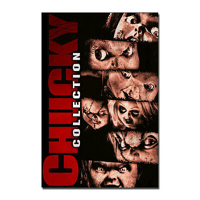 Child's Play Poster Horror Art Silk Fabric Movie Poster  13x20 24x36inches J535