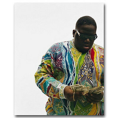 The Notorious B.I.G - Biggie Smalls US Rapper Silk Poster 13x16 24x30inch J233