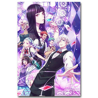 Death Parade 2 Anime Art Silk Poster Pictures 13x20 24x36 inch 003