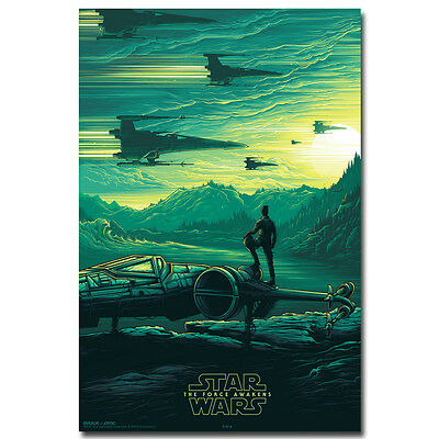 Star Wars 7 The Force Awakens Movie Poster 13x20 24x36 inches  082