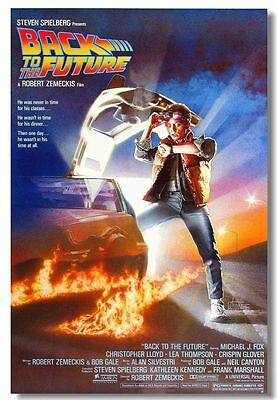 Back To The Future 1 2 3 Movie Art Art Silk Poster Pictures 13x20 24X36 inch 003