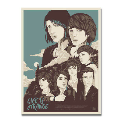 Life is strange Hot Game Art Silk Canvas Poster 13x18 32x43 inch