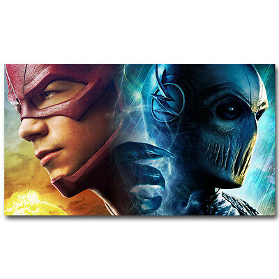 The Flash ZOOM Marvel Superheroes TV Series Silk Poster 13x24 24x43 inch
