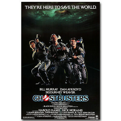 Ghostbusters Classic Movie Silk Fabric Poster 13x20 24x36inch 005