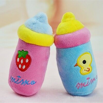 Pet Dog Toy Funny Puppy Chew Squeaker Squeaky Plush Play Toys for Dog Cat LRX