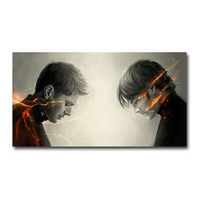 Supernatural Car TV Series Art Silk Poster 13x24inch