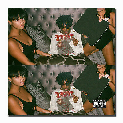 Playboi Carti 2017 Mixtape Hip Hop Rap Album Art Silk Poster 14x14 24x24in J891