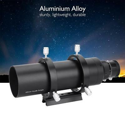 Double Helical 60mm Guide Scope Finderscope + Bracket For Astronmical Telescope