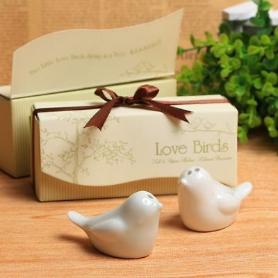 Exquisite Birds Ceramic Salt And Pepper Shakers Wedding Favor Happy Birds Gifts