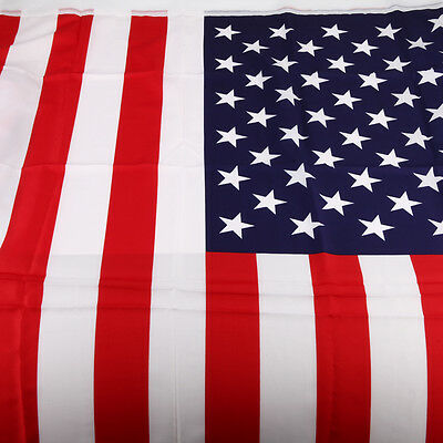 3'x 5' FT American Flag USA US U.S. Sewns Stripe Embroidered Stars Brass Grommet