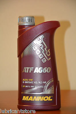 1L Atf Ag60 Transmission Oil For 8 Speed Automatic Bmw 83222152426 Lifeguard 8