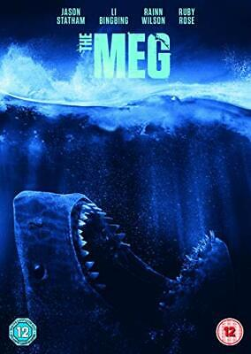 The Meg [DVD] [2018] - DVD  MBVG The Cheap Fast Free Post