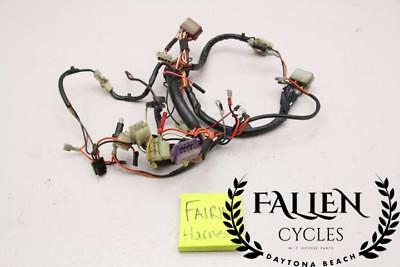 93 HARLEY ELECTRA Glide Clic FLHTC Wiring Wire Harness Loom Fairing on