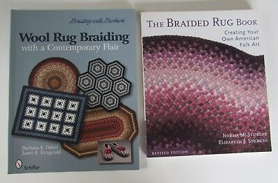 The Braided Rug Book Norma Sturges Wool Rug Braiding Barbara Fisher Instructions