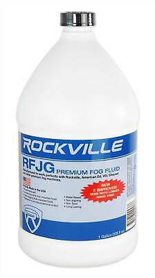 Rockville Gallon Water Based Fog/Smoke Juice Fluid For American DJ ADJ Entourage