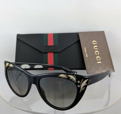 942debcf51a GUCCI GG3806S BLACK Frame Grey Gradient Lens Cat Eye Sunglasses 54 ...
