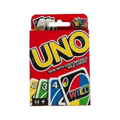 UNO ORIGINAL 112 CARD GAME WITH WILD CARD  - Kids Toy Game