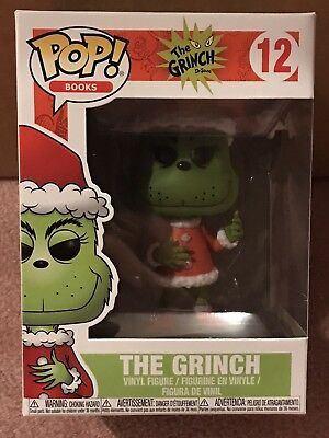 Funko Pop - Books - The Grinch (Santa) #12
