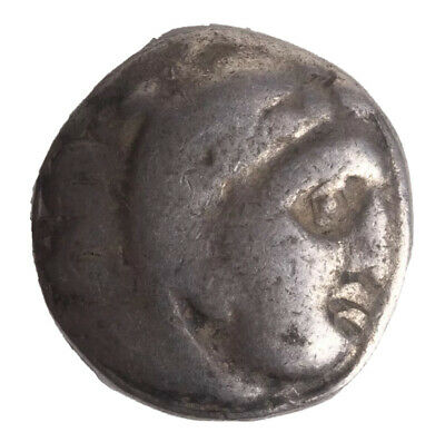 Ancient Macedon, Kings of. Alexander III. 336-323 BC. AR Drachm (18 mm, 4.13 gm)
