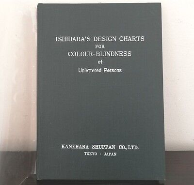 1976 JAPAN ISHIHARA'S Design Charts for Colour-Blindness of Unlettered Persons