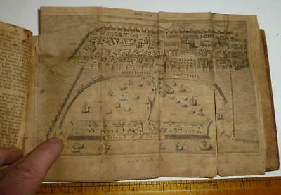 RARE 1806 Rollins Ancient History of Alexander Philip Leather w Maps of Issus