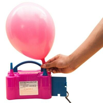 110V Portable Electric Balloon Pump Air Blower Balloon Inflator Party Wedding UK